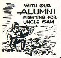 "Bethel Clarion section in the years of World War II: ""With our alumni fighting for Uncle Sam"""