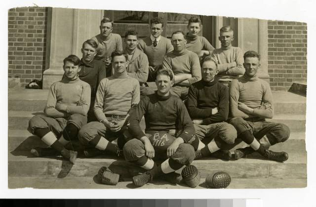 Bethel Academy football team for 1916