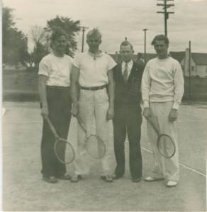 Bethel Junior College tennis team in 1937