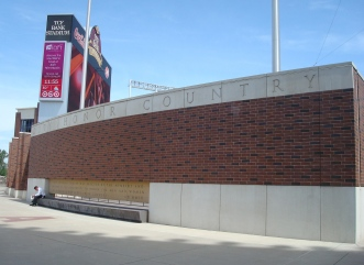 Veterans Tribute at the University of Minnesota's TCF Bank Stadium (2009)