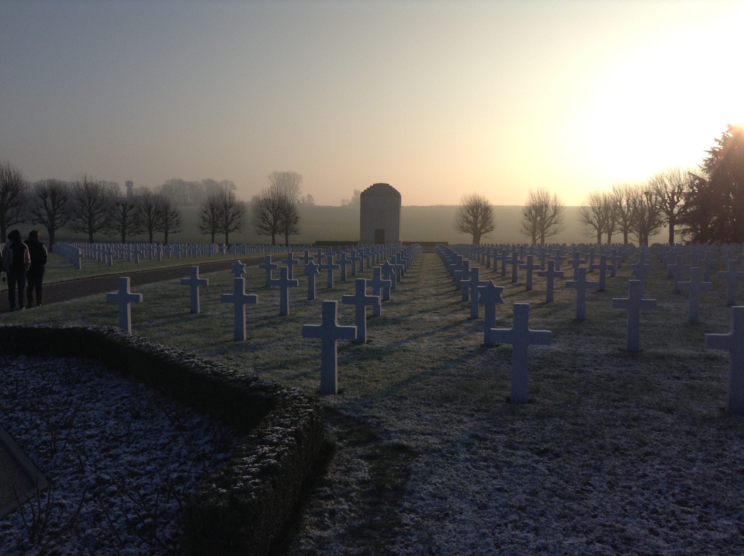 Somme American Cemetery in Bony, France