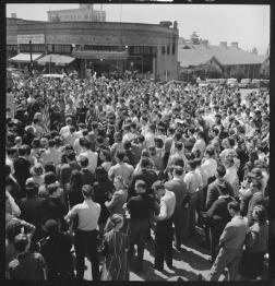 Peace rally at Cal-Berkeley in April 1940