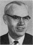 College Dean Clifford Anderson in 1966