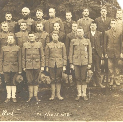 Conscientious objectors in November 1918
