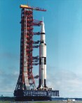 Apollo 11 prepared to launch - Wikimedia Commons