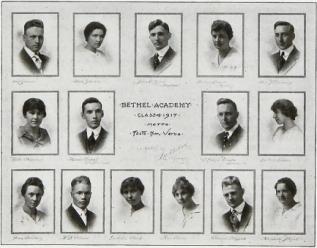 The Bethel Academy Class of 1917