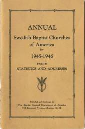 The last year the BGC was the Swedish Baptist General Conference - Bethel University Digital Library