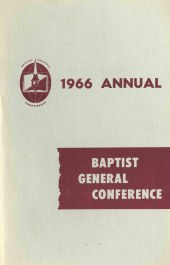 The 1966 BGC Annual Report - Bethel University Digital Library