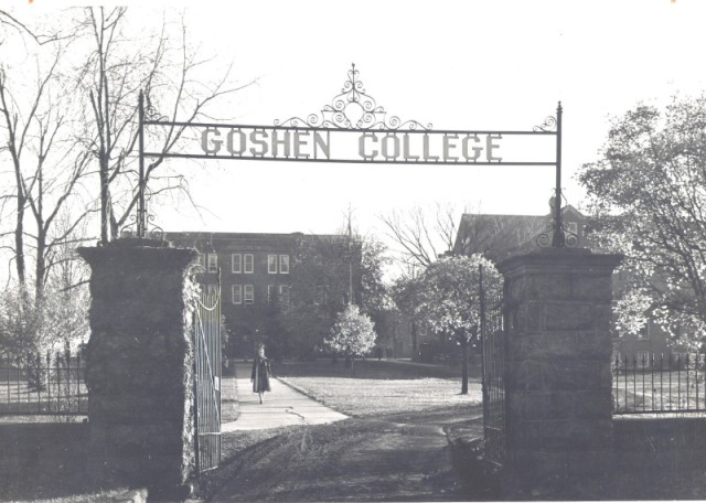Goshen College in 1940