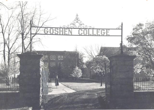 Goshen College in 1940