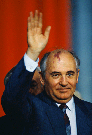 Gorbachev - architect of glasnost and perestroika