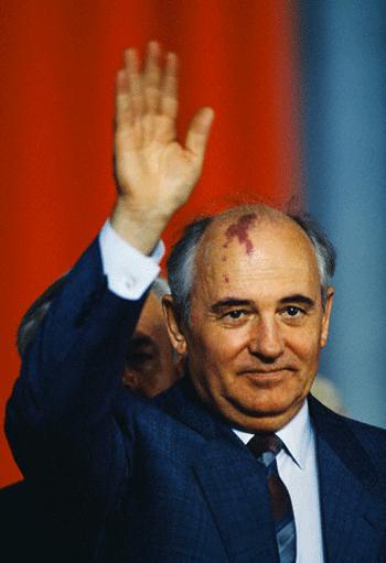 Gorbachev - architect of glasnost and perestroika