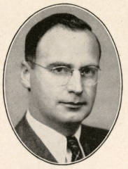 State senator and Bethel Junior College dean Emery Johnson in 1943