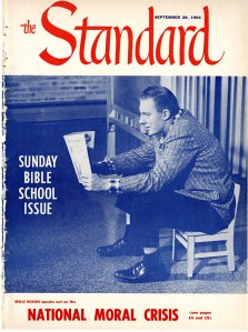 A September 1964 cover of the Standard