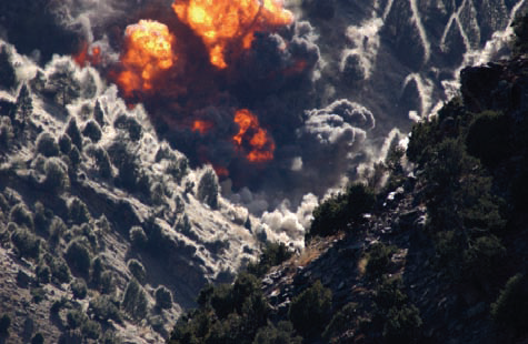 Airstrikes on Tora Bora