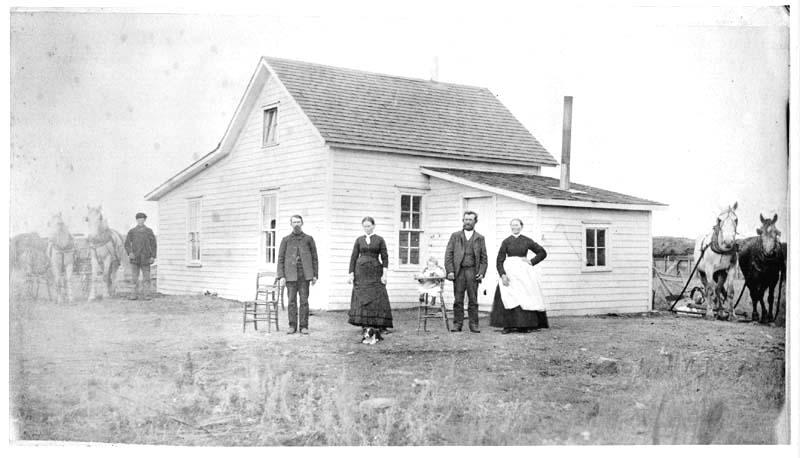 Swedish pioneers in North Dakota, 1888