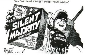 A December 12, 1969 cartoon from the Clarion