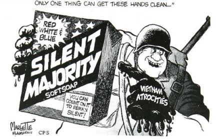 A December 1, 1969 cartoon from the Clarion