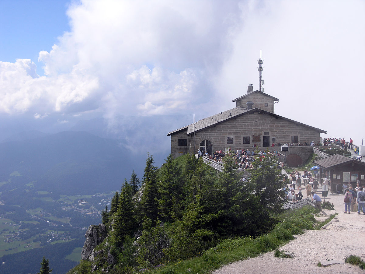 "The ""Eagle's Nest"" above Berchtesgaden"