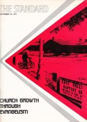 September 20, 1971 Standard - Bethel University Digital Library