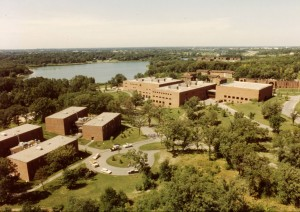 The new Arden Hills campus, ca. 1980s - Bethel University Digital Library