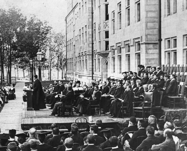 1894 convocation at the University of Chicago