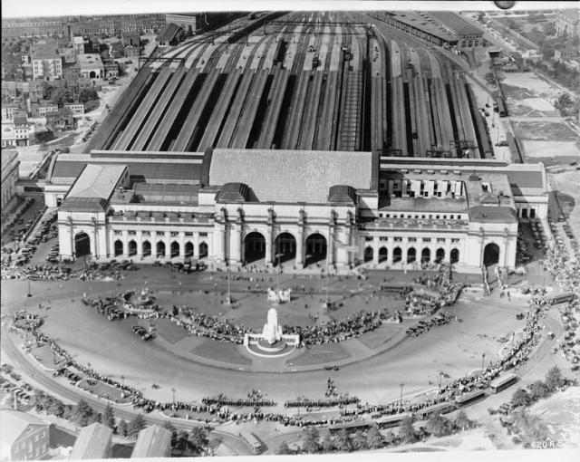 Washington's Union Station, ca. 1921