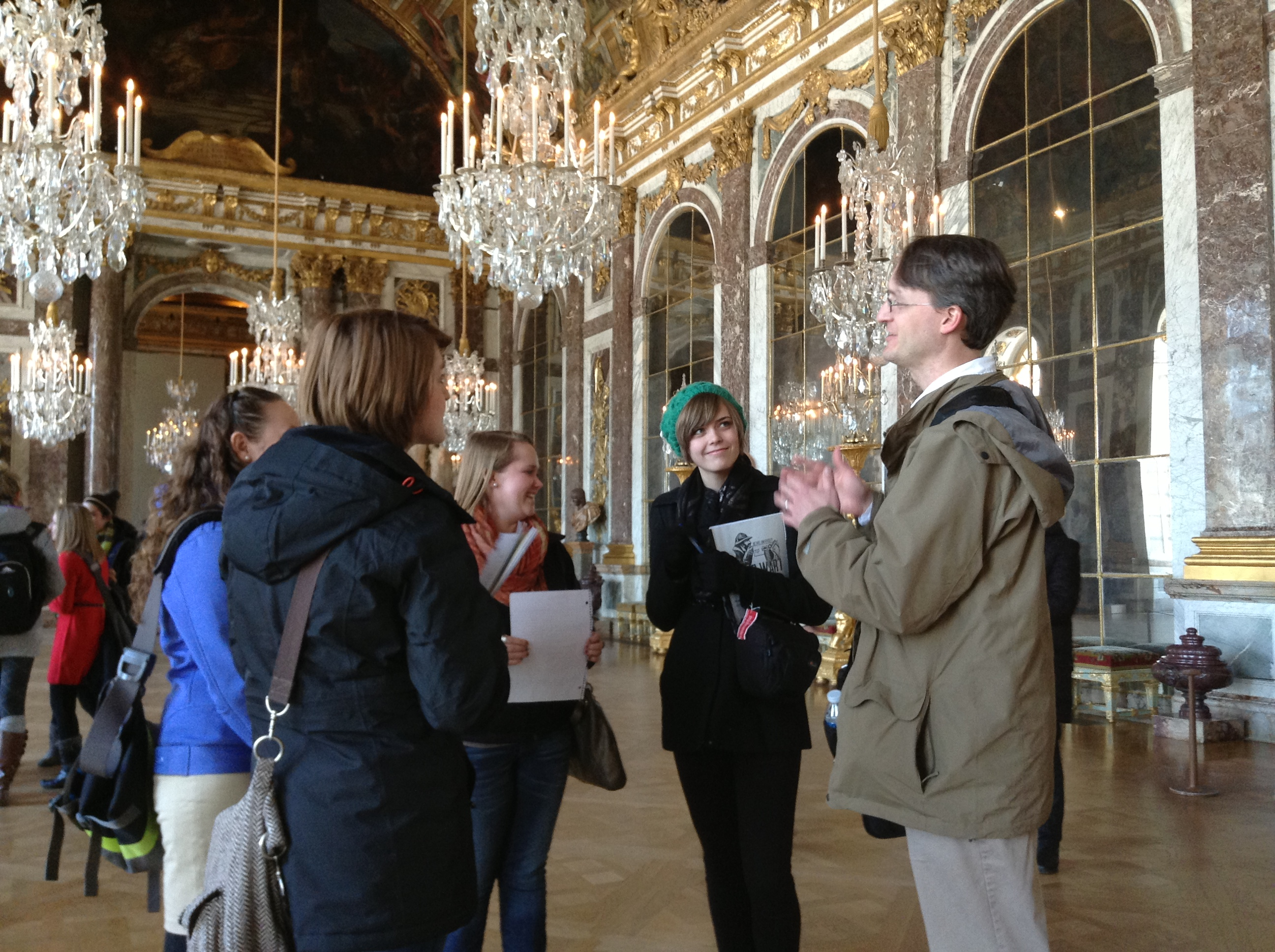 Reliving the Versailles Peace Conference in Versailles