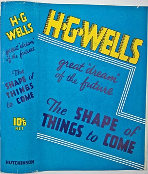 Cover of H.G. Wells, The Shape of Things to Come