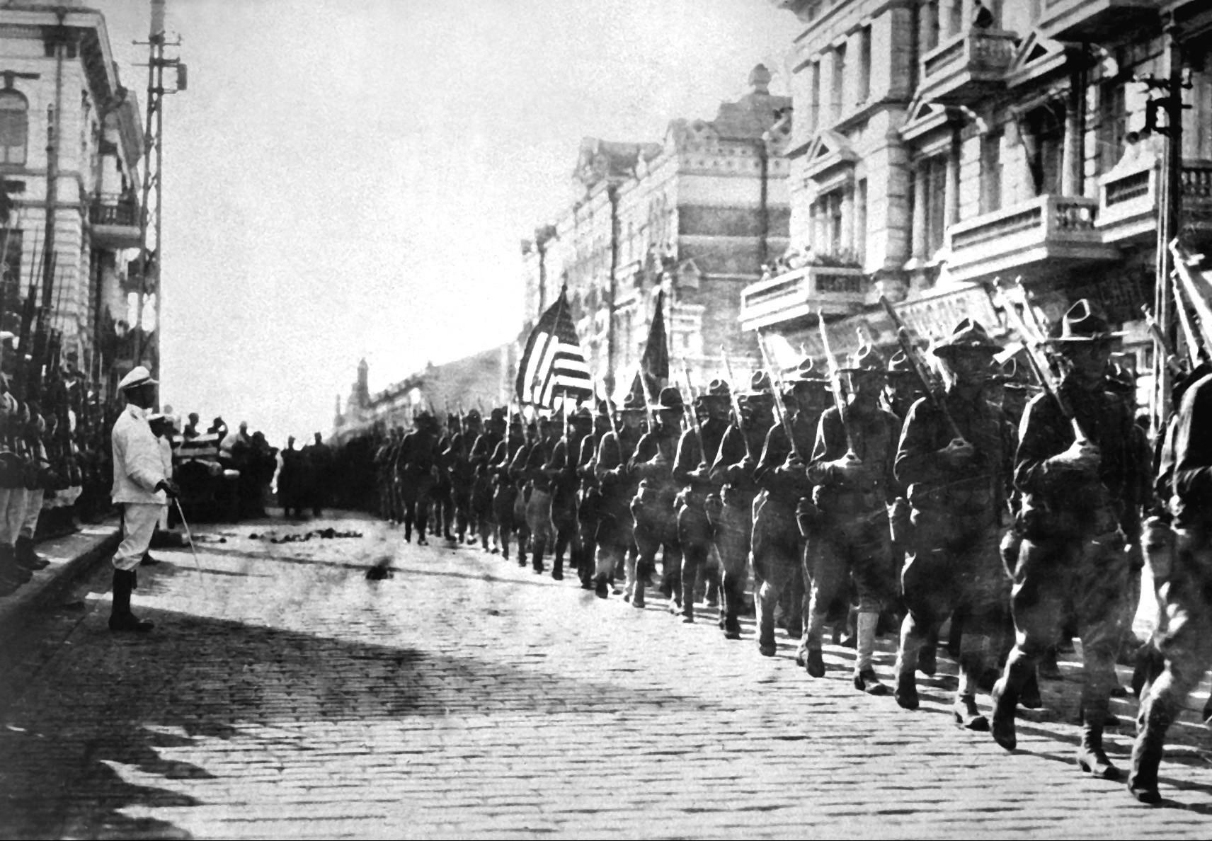 Usa Red Scare American Troops In Vladivostok Hd Sn E