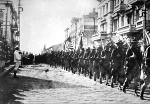 U.S. troops in Vladivlostok during the allied intervention in the Russian Civil War (1919) - Wikimedia Commons