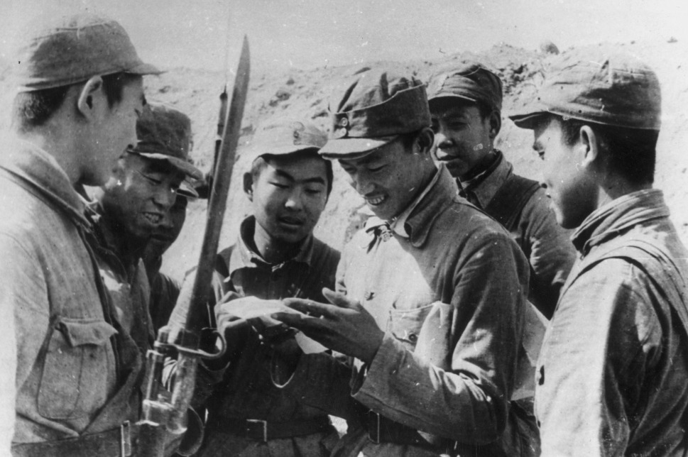 an introduction to the history of the chinese communist troops His troops were hit by surprise and decimated when chinese communists troops  began attacking his forces on october 25, the prc made an attack on rok.