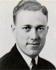 Hoglund as a Seminary student in 1941