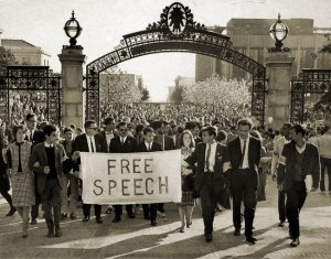 Mario Saivo and the Free Speech movement at UC Berkeley.