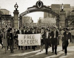 Mario Saivo and the Free Speech movement at UC Berkeley.