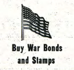 War bonds ad in 1943 Clarion issue