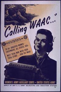 WAACs recruiting poster