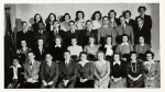 Freshman class photo in 1944 Bethel yearbook