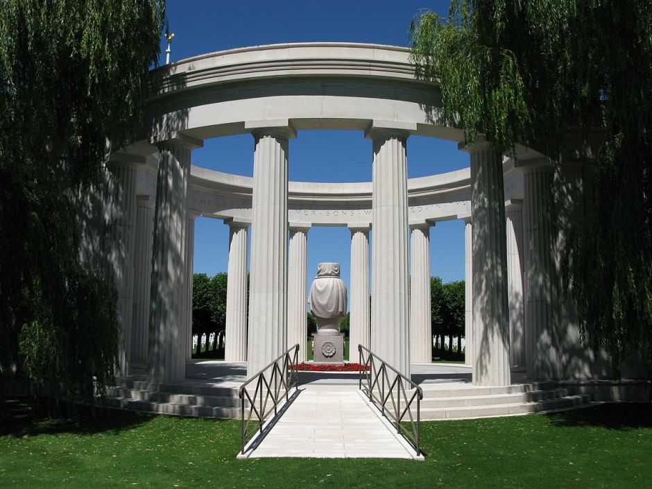 Memorial at St. Mihiel American Cemetery