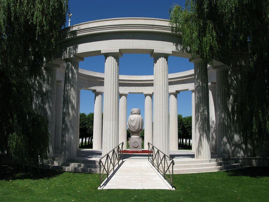 Memorial at St. Mihiel American Cemetery