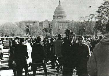November 1969 Washington, D.C. Moratorium (photo by Bethel students)