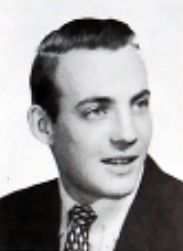 Richard Westby as a sophomore, 1955 Spire - BUDL