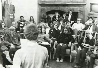 Students plan the May 1970 protests