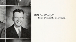 Roy Dalton as a Bethel College junior