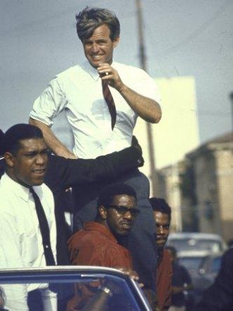 RFK campaigning, 1968