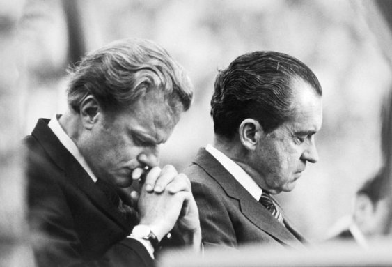 Nixon and Billy Graham