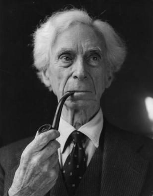 Bertrand Russell in 1957