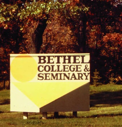 Bethel_College_and_Seminary_Sign