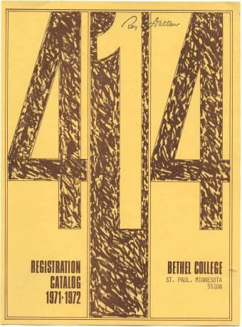 1971-72 Catalog