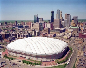 Hubert Humphrey Metrodome vikings